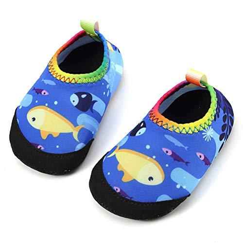 b11b4d308c9c Athletic   Outdoor – Panda Software Baby Boys Girls Water Shoes Infant  Barefoot Quick -Dry Anti- Slip Aqua Sock for Beach Swim Pool Fish 12-18  Months M US ...